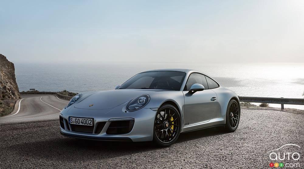Salon de Detroit 2017 : la Porsche 911 GTS dévoilée