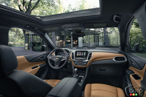 {u'en': u'The interior of the new 2018 Chevrolet Equinox'}