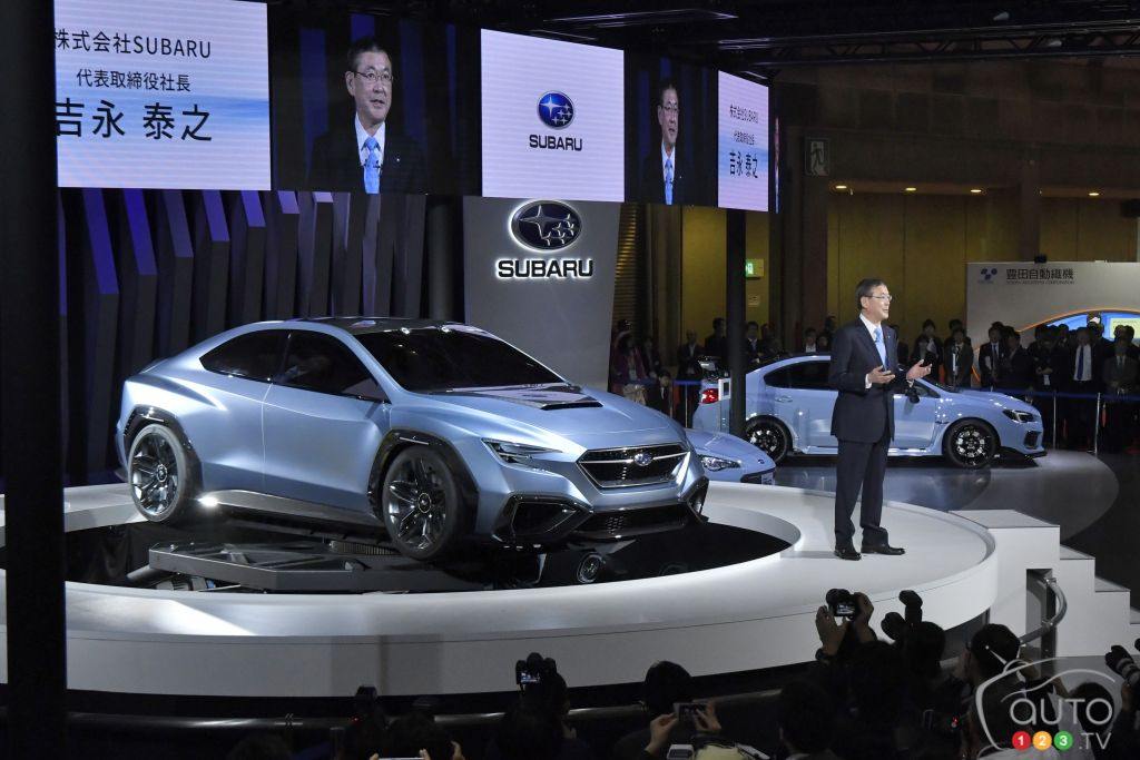 Subaru Viziv Performance At Tokyo Motor Show 2017 Car News