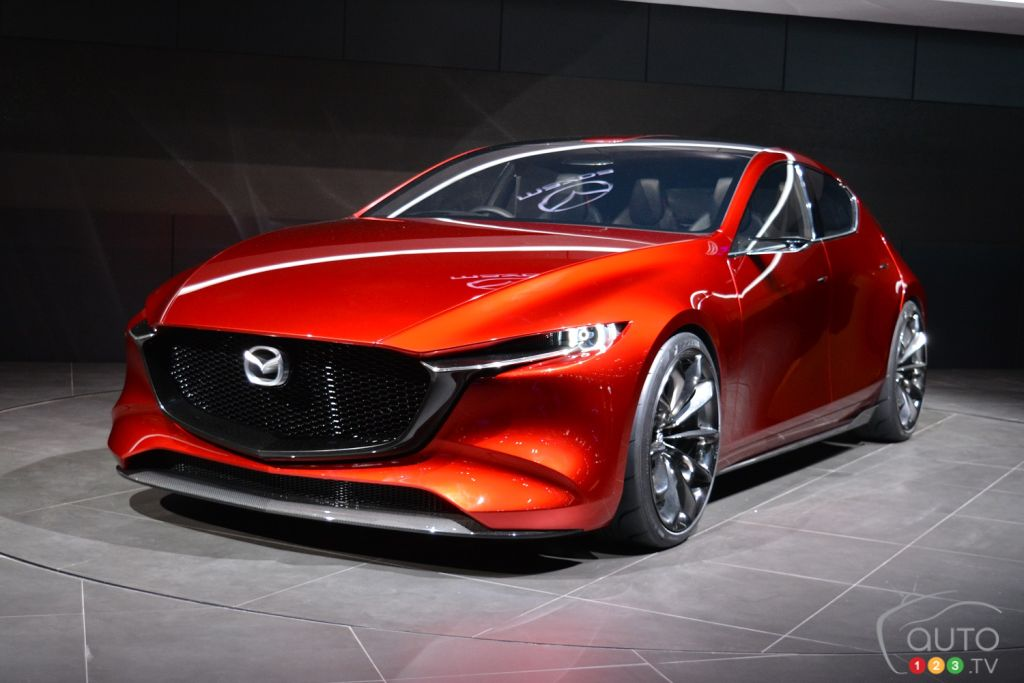 mazda s stunning new concepts from tokyo explained car. Black Bedroom Furniture Sets. Home Design Ideas