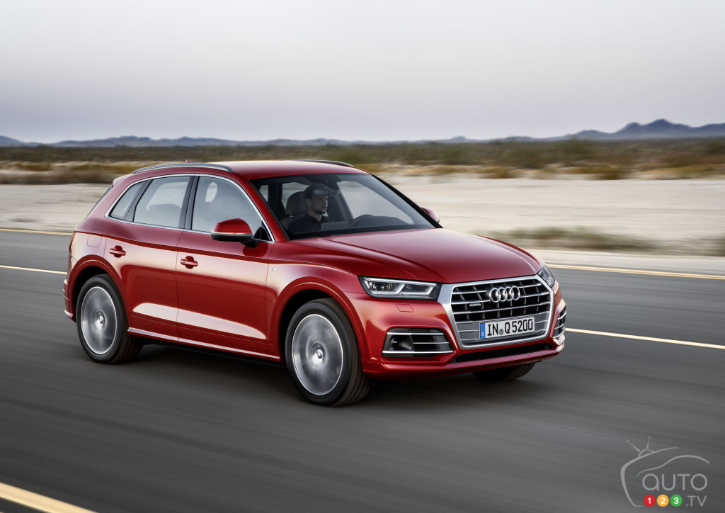 Audi Q And Honda Accord Voted Top Tech Choices Car News - Audi q5 family car