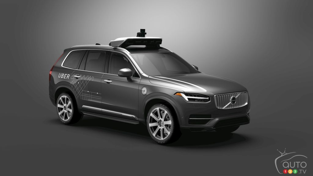 Volvo to sell thousands of self-driving cars to Uber