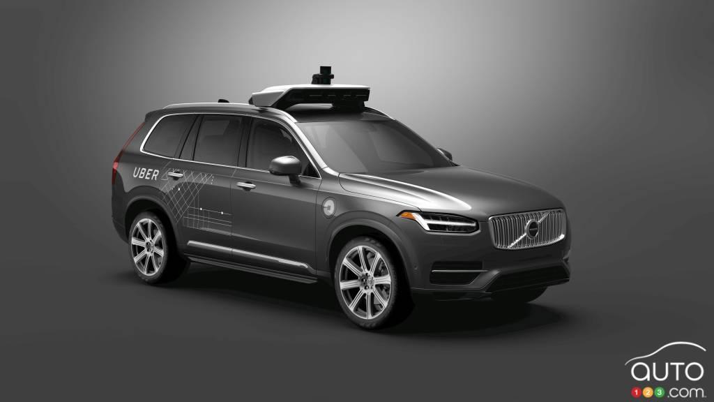 Volvo s'associe à Uber pour lui fournir des voitures autonomes