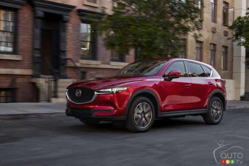 New Mazda CX-5 Adds More Tech for 2018, Including More Fuel ...