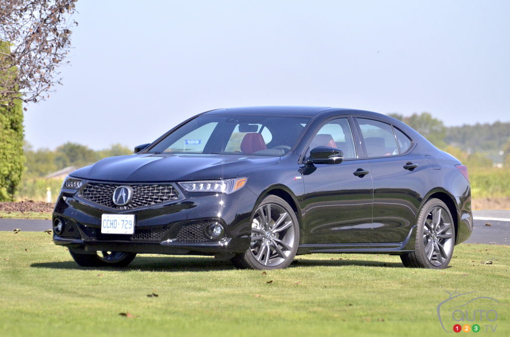 2018 Acura Tlx A Spec Review And Pricing Car Reviews Auto123