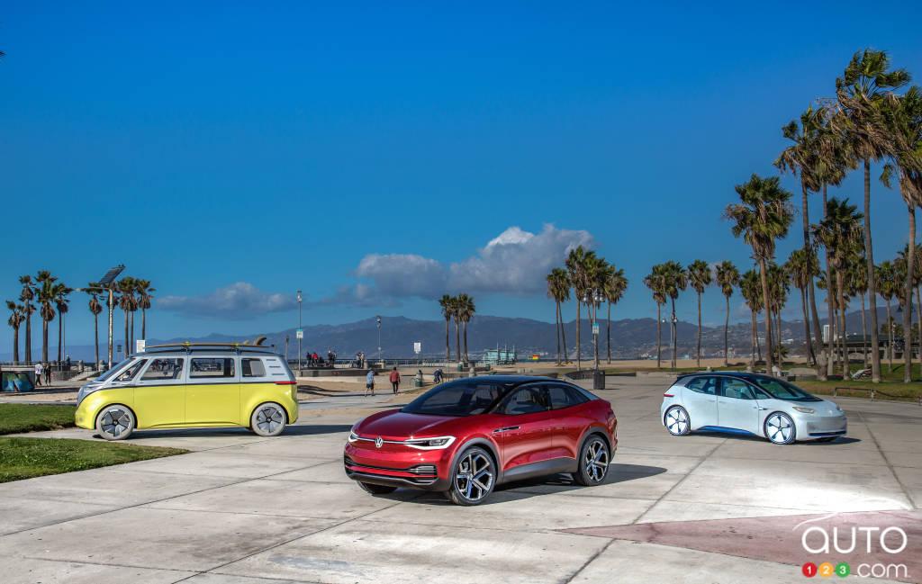 Los Angeles Auto Show 2017 >> VW I.D. CROZZ electric SUV makes North American debut | Car News | Auto123