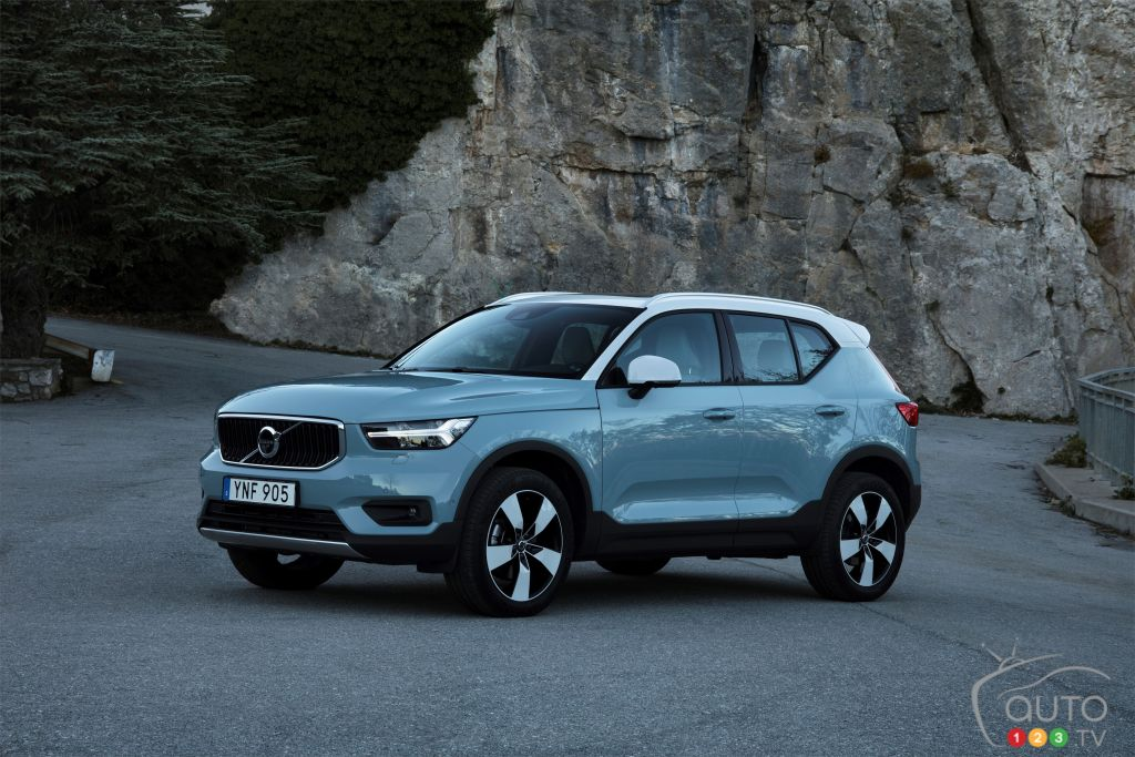 Volvo Xc40 To Launch In Canada With Subscription Service