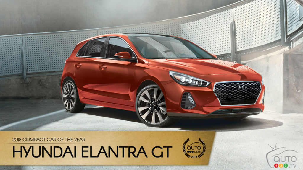 The Hyundai Elantra GT, our 2018 compact car of the year ...