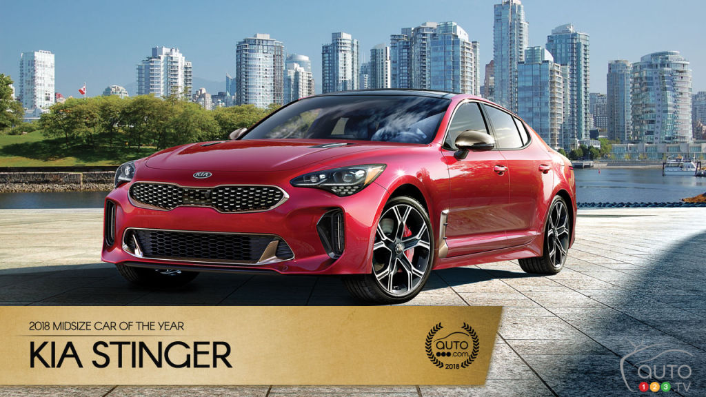 The Kia Stinger Our 2018 Midsize Car Of The Year Car