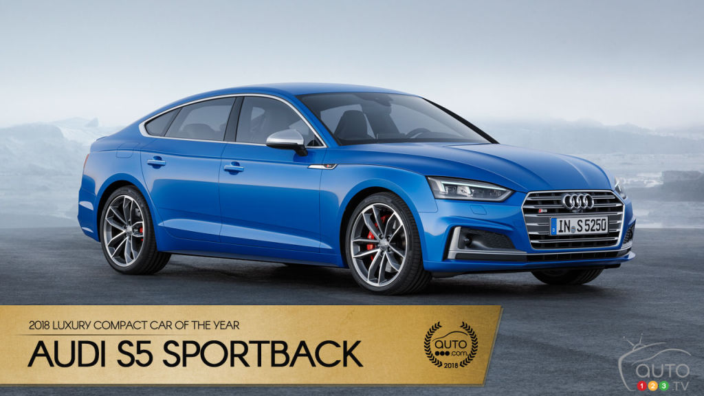 Audi S5 Sportback Our 2018 Luxury Compact Car Of The Year Car News Auto123