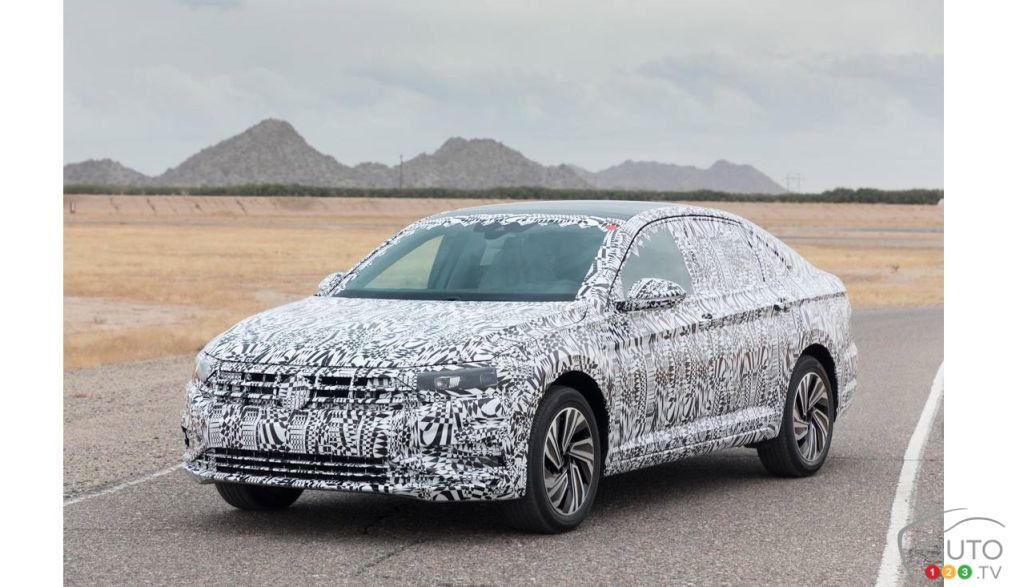 Volkswagen Jetta Teased Ahead Of Detroit Motor Show Unveil