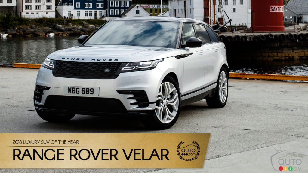 Range Rover Velar Auto123 S 2018 Luxury Suv Of The Year