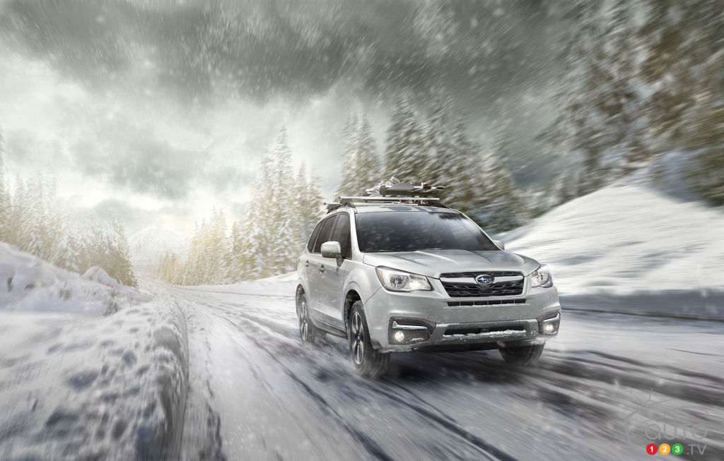 2018 Subaru Forester Review And Pricing Car Reviews Auto123