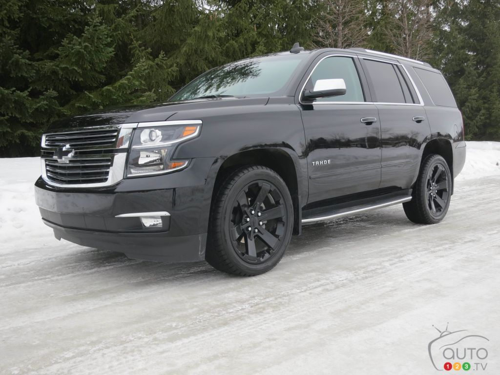 2017 chevy tahoe premier and its clones car reviews auto123. Black Bedroom Furniture Sets. Home Design Ideas