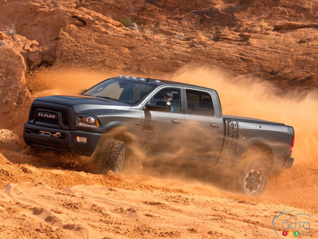 Auto123 New Cars Used Cars Auto Shows Car Reviews Amp Car News The new 2017 Ram Power Wagon is equipped to deliver on even the most ...