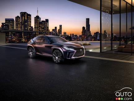 {u'fr': u'Le prototype Lexus UX'}