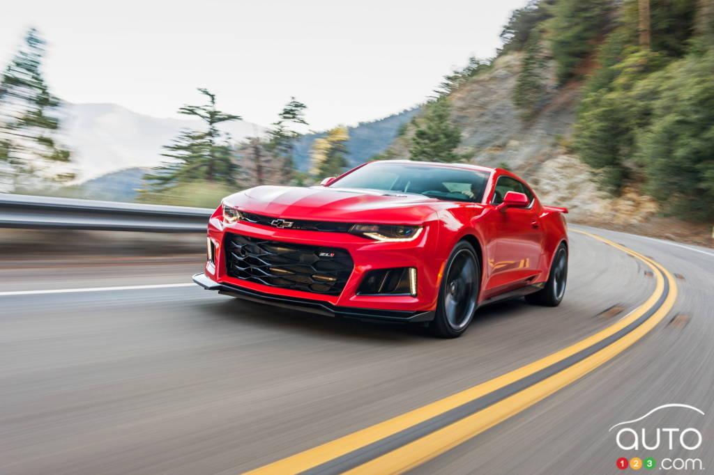 Dodge Challenger A Vendre >> La Chevrolet Camaro ZL1 2017 flirte avec les 200 mi/h ...