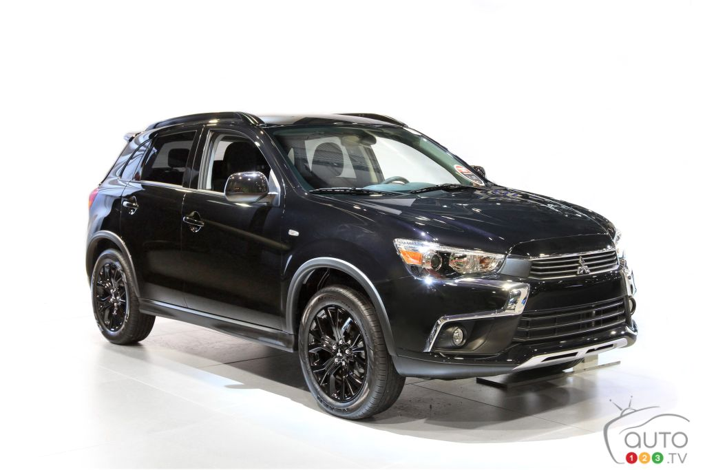 Canada-only Black Editions for Mitsubishi Lancer and RVR | Car News | Auto123