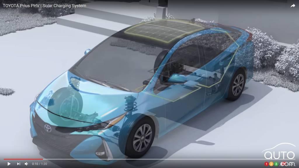 toyota prius prime son syst me hybride expliqu en vid o actualit s automobile auto123. Black Bedroom Furniture Sets. Home Design Ideas