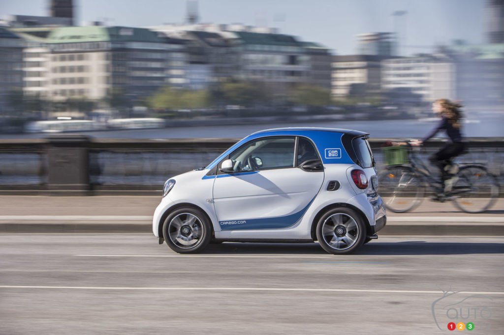 Montreal S Car2go To Offer New Smart Cars Car News Auto123