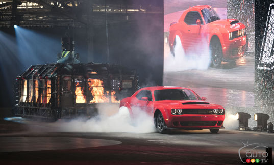 {u'en': u'The all-new 2018 Dodge Challenger SRT Demon being unleashed in New York'}