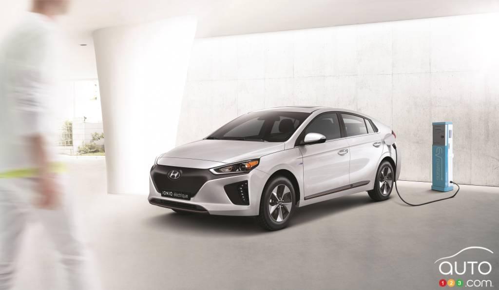 La Hyundai Ioniq Moins Chre Que Les Prius Volt Et Bolt