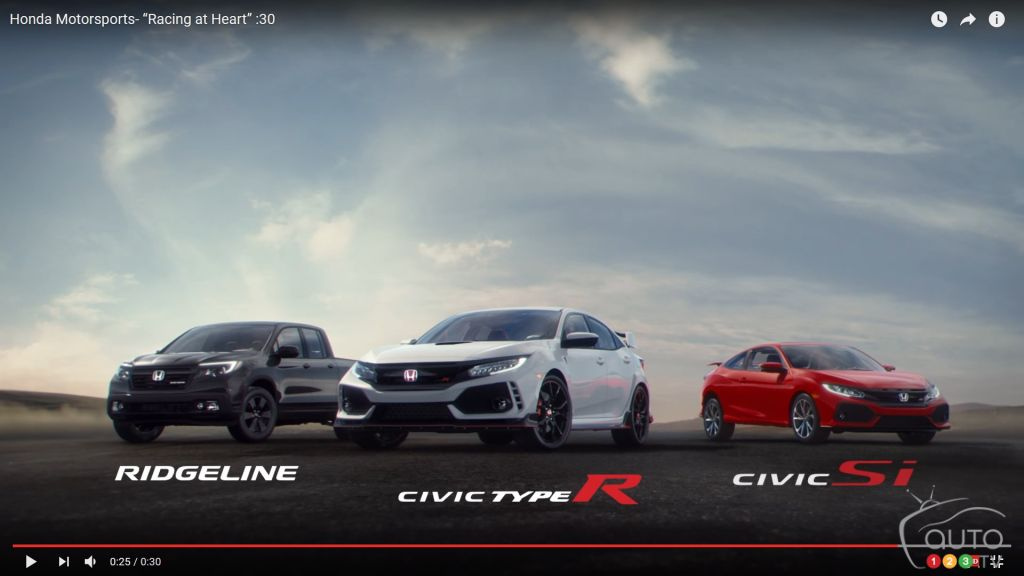 From Civic Type R to Ridgeline, racing in Honda's DNA | Car News | Auto123