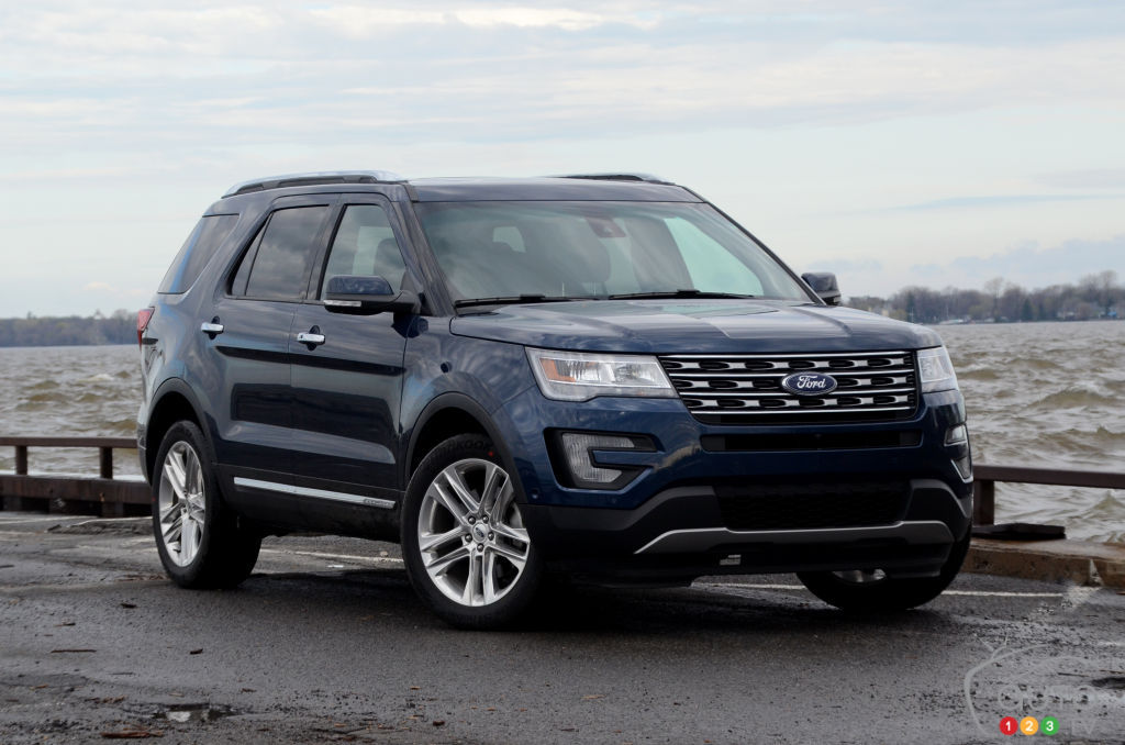 2017 Ford Explorer Does Just Fine On 4 Cylinders Car Reviews Auto123
