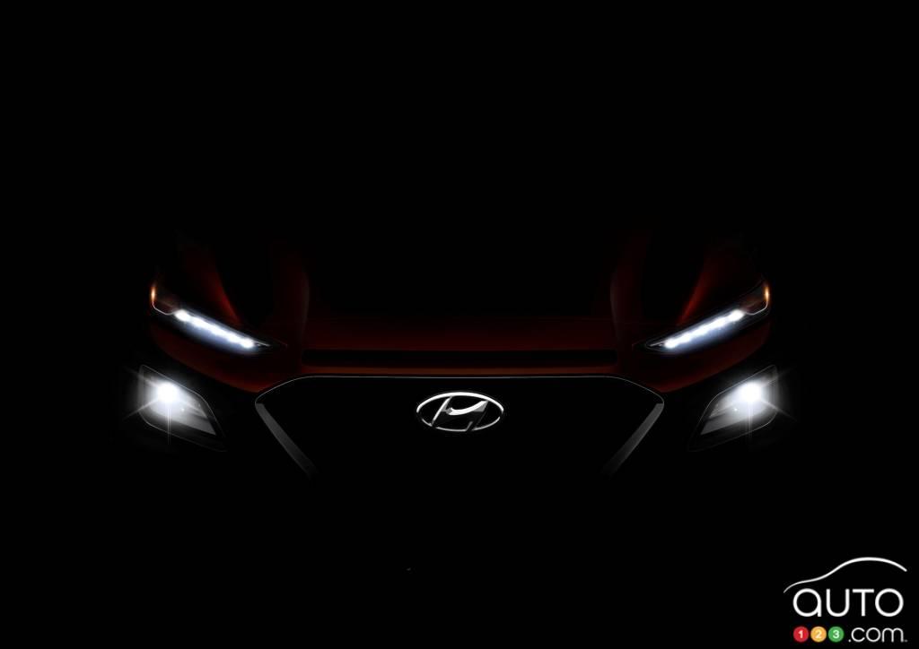 Hyundai Kona To Finally Debut On June 13