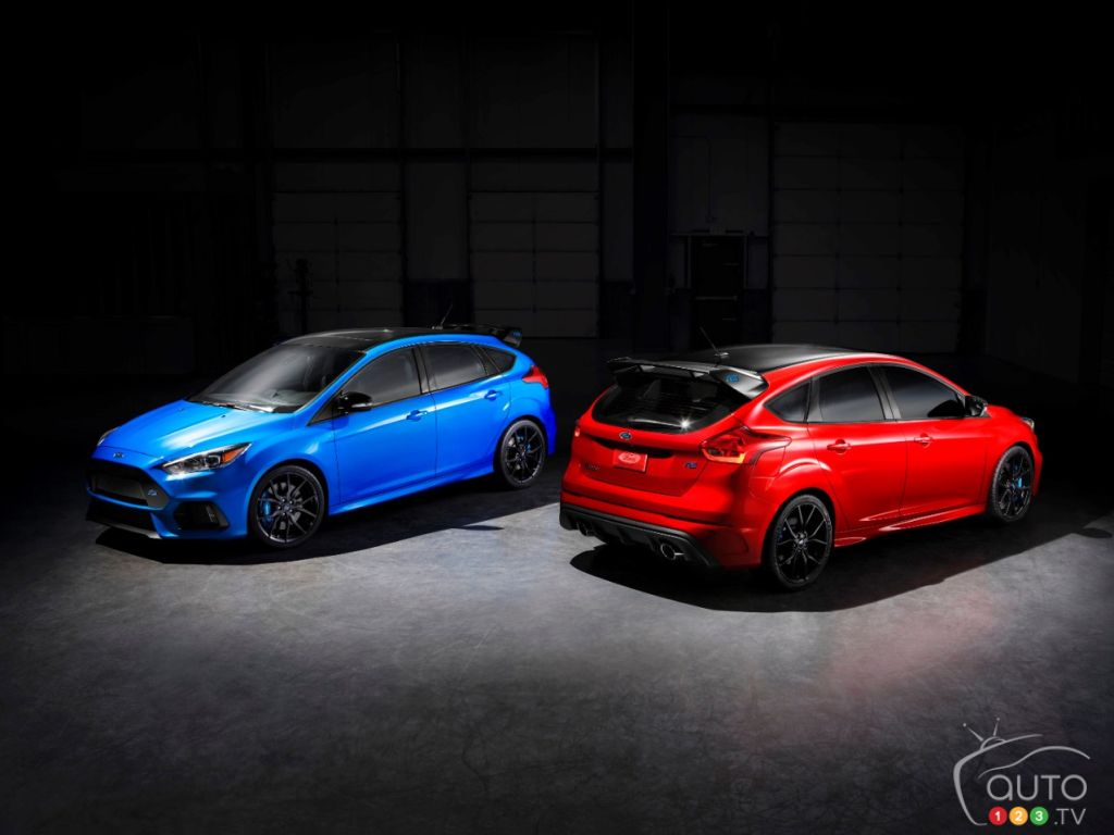 The Ford Focus Rs Will Leave Us With A Limited Edition Car News Auto123