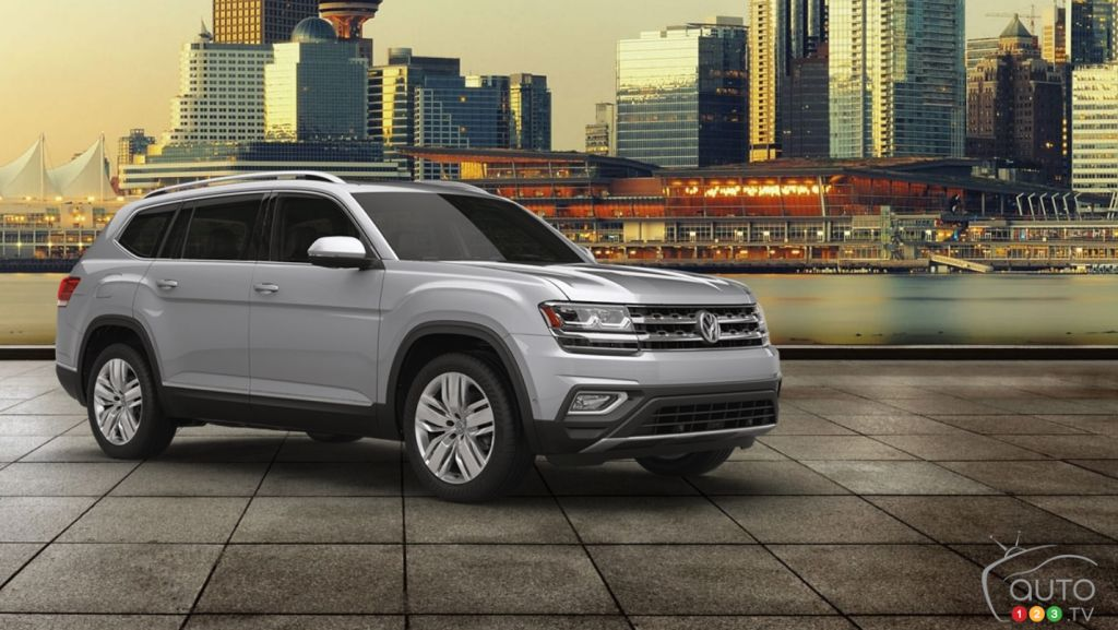 Highline Car Connection >> The 2018 Volkswagen Atlas is available now | Car News | Auto123