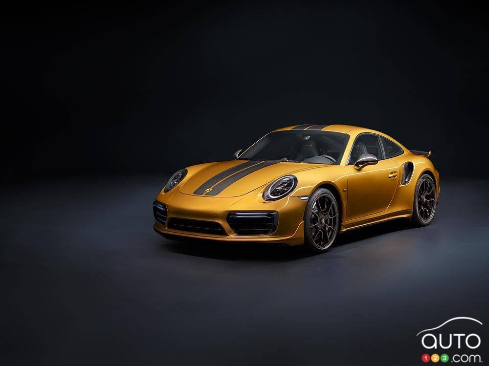 la porsche 911 turbo s exclusive une vraie perle rare actualit s automobile auto123. Black Bedroom Furniture Sets. Home Design Ideas