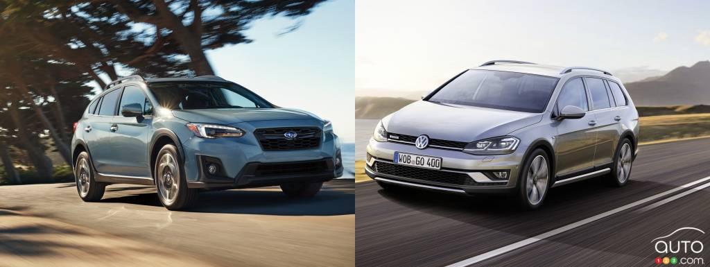 2018 Subaru Crosstrek vs 2017 Volkswagen Golf Alltrack | Car Reviews | Auto123