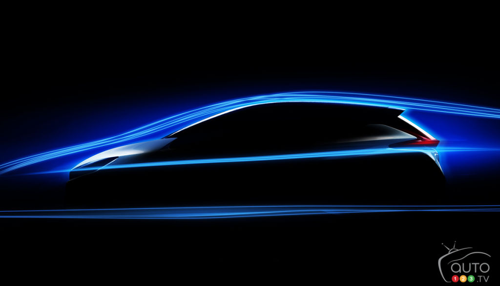 Another Nissan LEAF teaser image revealed