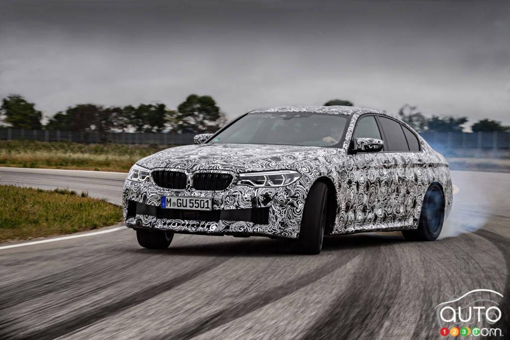 Vue rapide sur la nouvelle BMW M5 2018