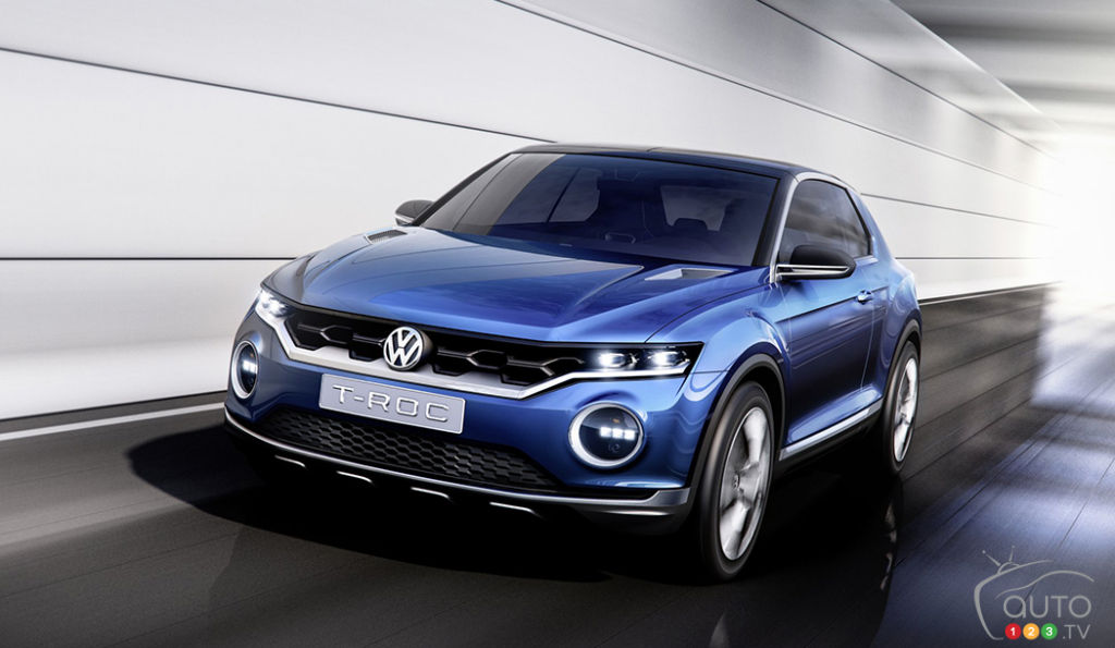Volkswagen reveals T-Roc SUV and it looks gorgeous! Launch in 2018