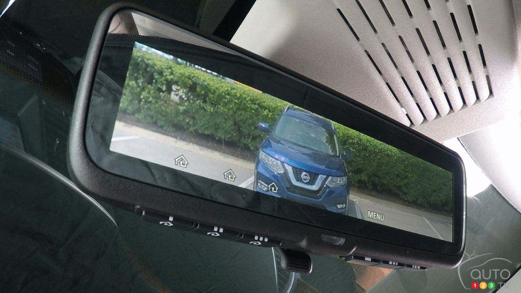 Intelligent Rear View Mirror Coming To 2018 Nissans Car