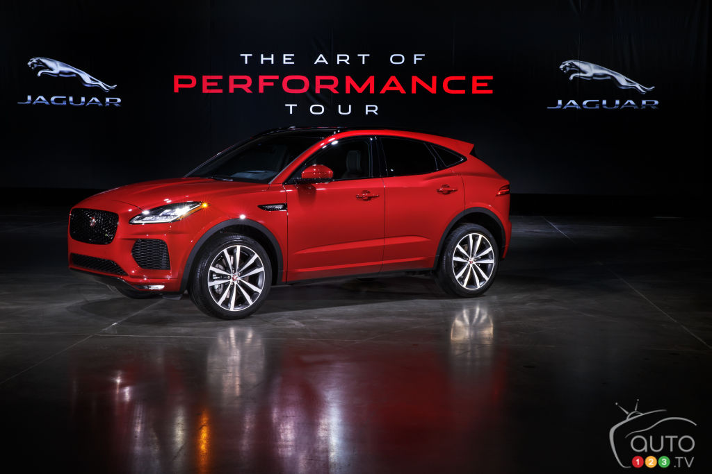 2018 jaguar canada. simple canada 2018 jaguar epace arriving in canada pricing announced  car news  auto123 with jaguar canada t