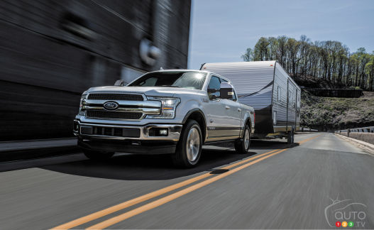 {u'en': u'2018 Ford F-150 with 3.0L Power Stroke turbo-diesel engine'}