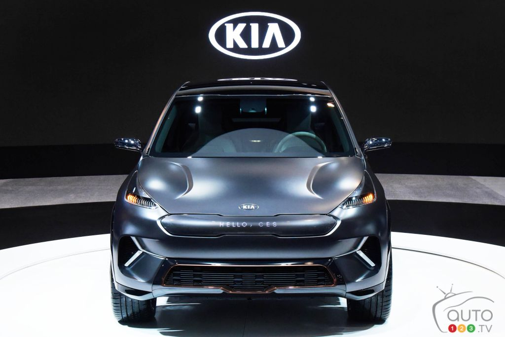 Kia Niro EV concept debuts at CES with 238 mile driving range