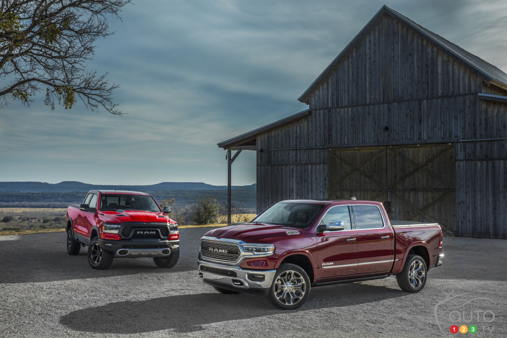 Ram 1500 2018 pick-up revealed