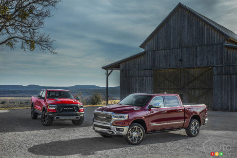 {u'en': u'The new 2019 Ram 1500 Rebel and Limited models'}