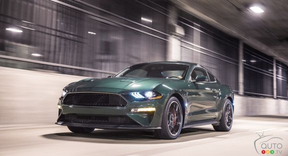 Detroit 2018 Ford Resurrects Mustang Bullitt Announces 2019 Shelby Gt500
