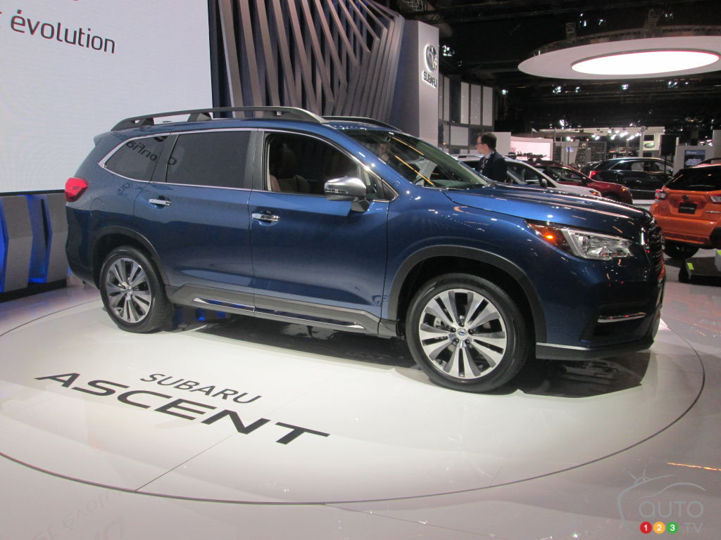 2019 Subaru Ascent gets Canadian premiere in Montreal ...