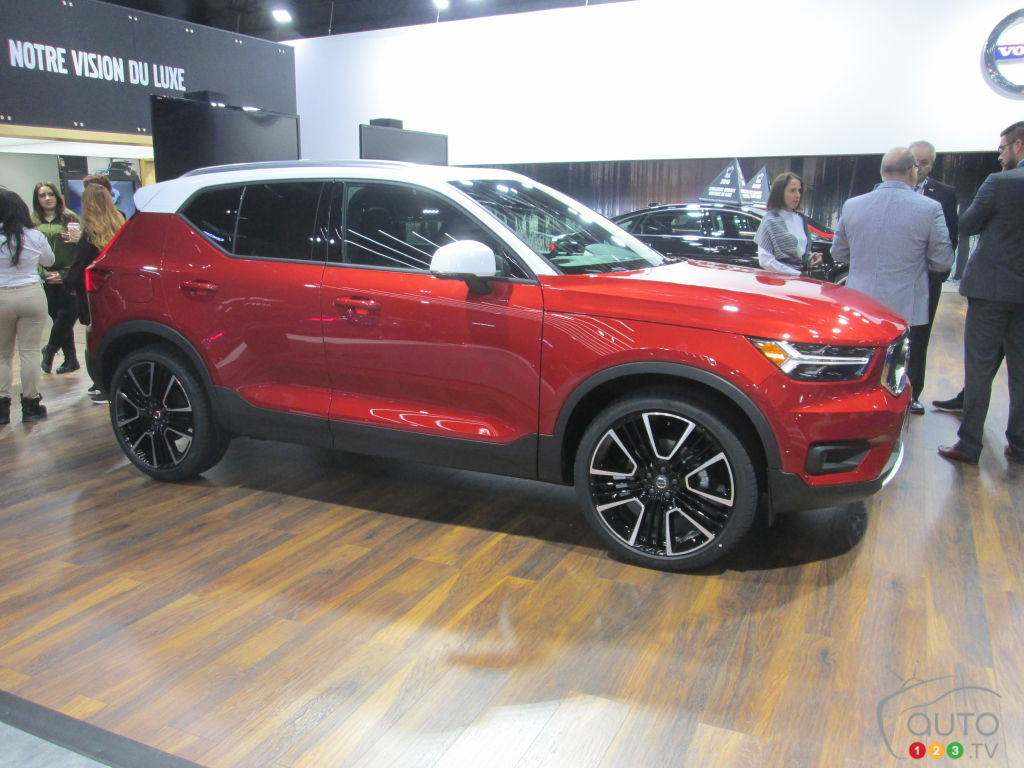Auto City Sales >> The 2019 Volvo XC40 introduced at Montreal Auto Show | Car News | Auto123