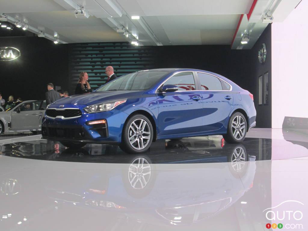 Kia Forte For Sale >> The 2019 Kia Forte showcased at the Montreal Auto Show | Car News | Auto123