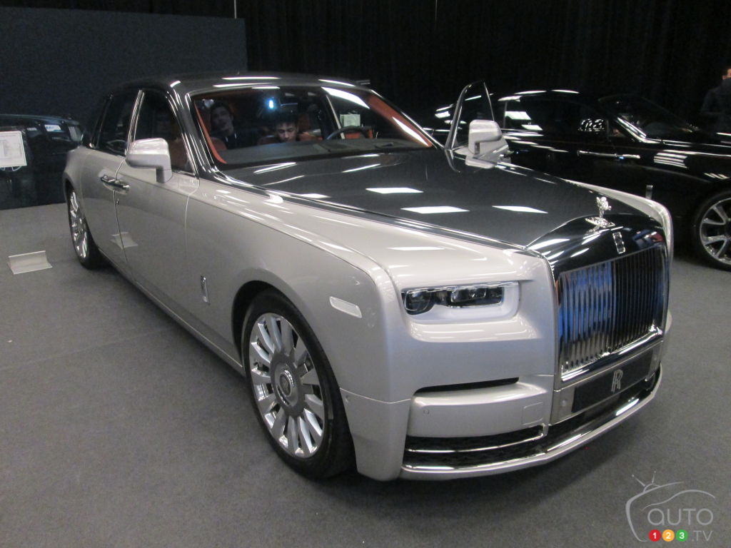 the new rolls royce phantom in canadian premiere car. Black Bedroom Furniture Sets. Home Design Ideas
