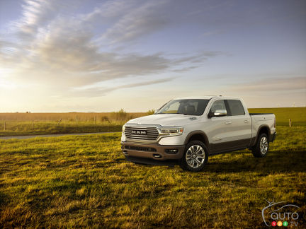 {u'en': u'The new 2019 Ram 1500 Laramie Longhorn'}