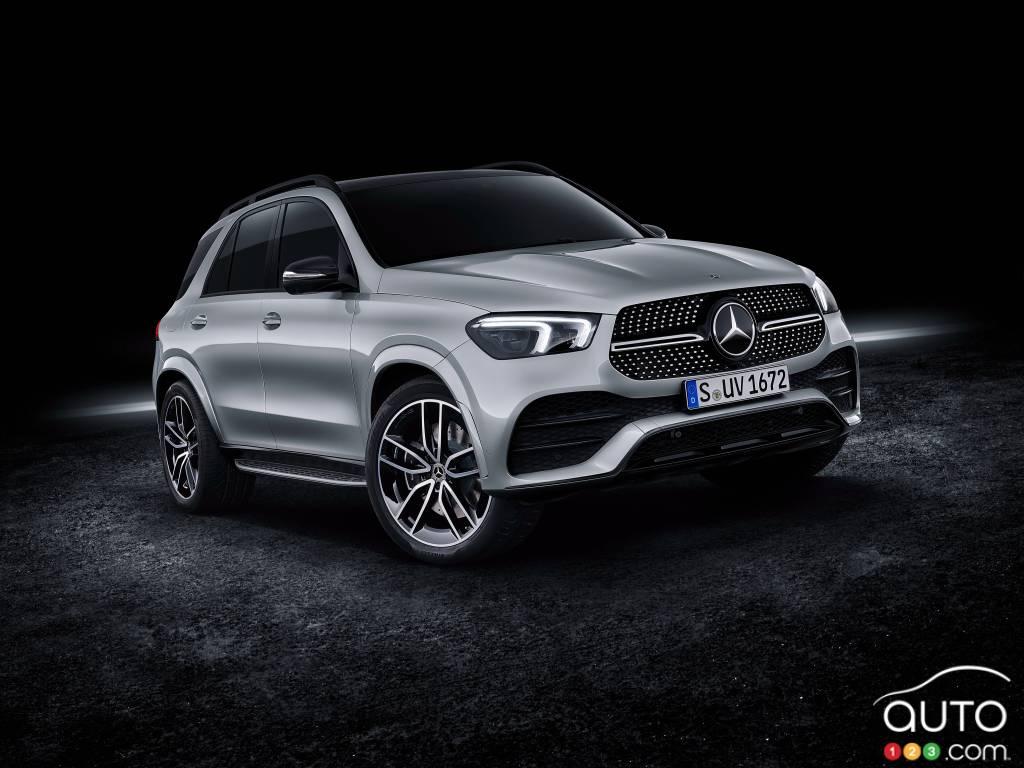 Mercedes Benz Gle 1st Plug In Hybrid With 100 Km Range Car News Auto123