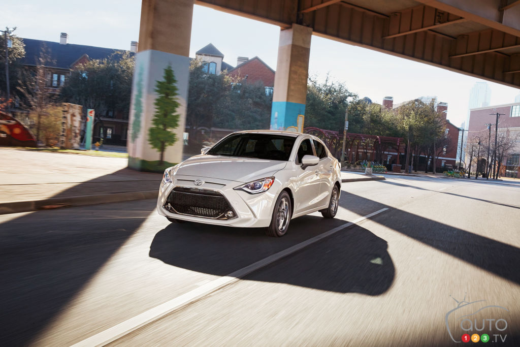 2019 Toyota Yaris Sedan Details and Pricing | Car News | Auto123